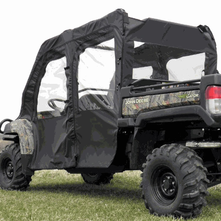 doors and rear window kit for john deere gator xuv 825i s4 855d s4. Black Bedroom Furniture Sets. Home Design Ideas