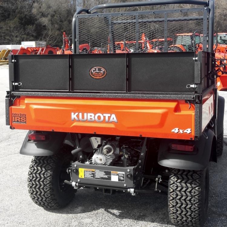 Kubota X Series Bed Wall Extender