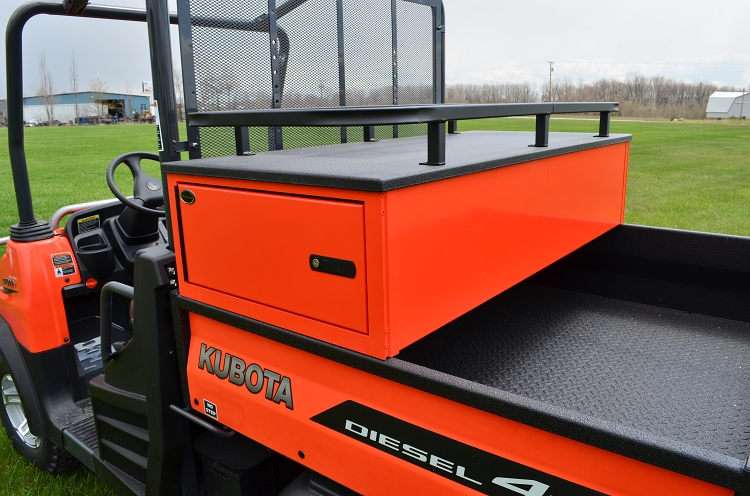 Kubota Tractor Tool Box : Quot crossover tool box with roof rack locking