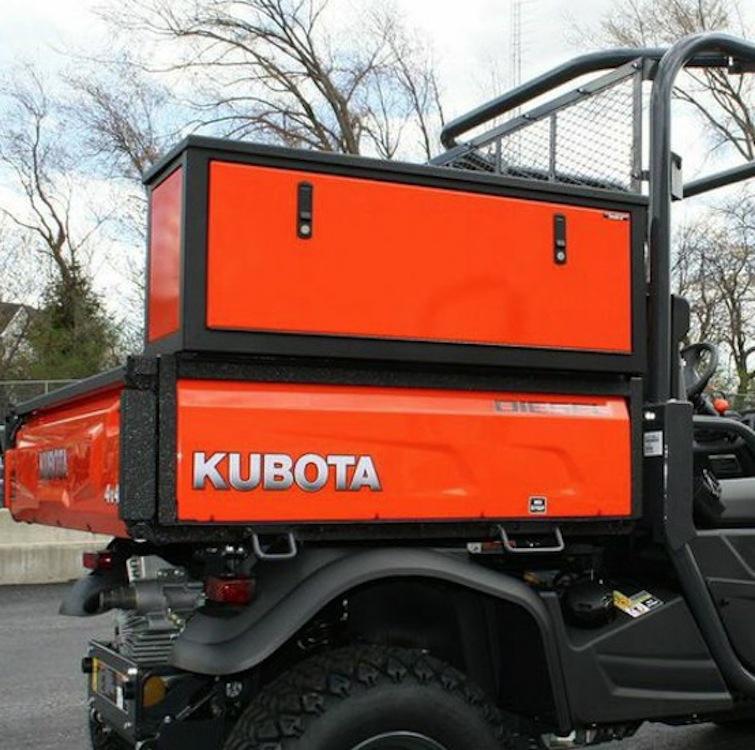 Heavy Duty Saddle Storage Box For The Rtv X Series
