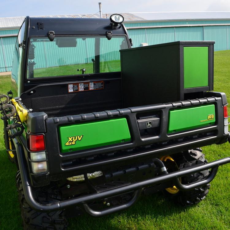Sunshades For Trucks >> Side Mount Storage Box for John Deere Gator (single door)