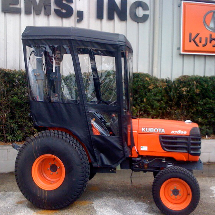 Kubota Bx Wheel Spacers : Tractor cab enclosure for kubota bx series tractors