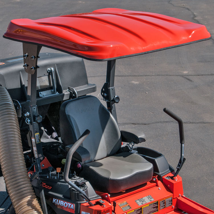 Nx Fiberglass Canopy Kit For Kubota Zd Amp Zg Zero Turn
