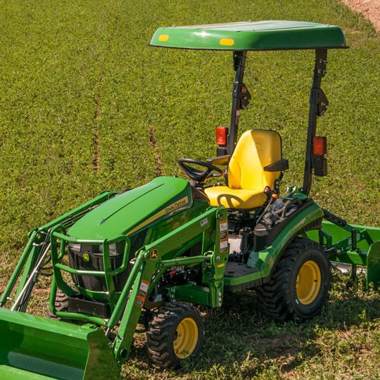 D3 Fiberglass Canopy for John Deere Compact Tractors & D3 Fiberglass Canopy for John Deere Compact Tractors u0026 Mowers