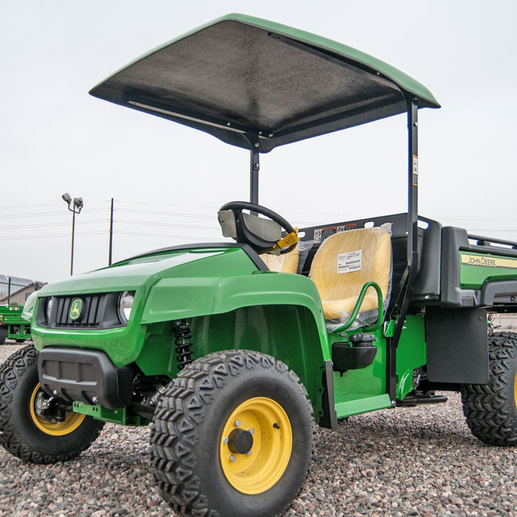Fiberglass Canopy Kit with Steel Frame for John Deere T-series Gators & Fiberglass Canopy for John Deere T-Series Gators