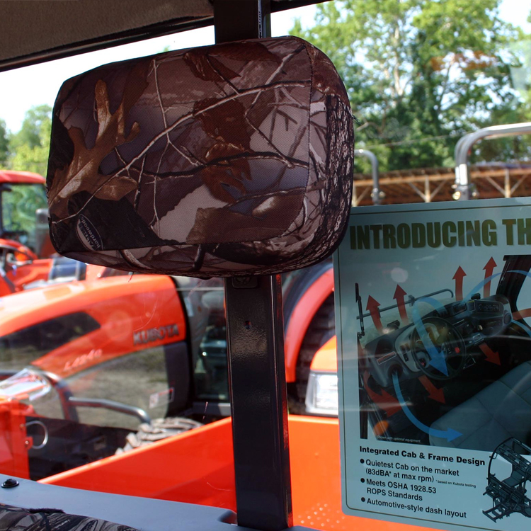 Kioti Tractor Seat Covers : Seat covers with head rest for kubota rtv