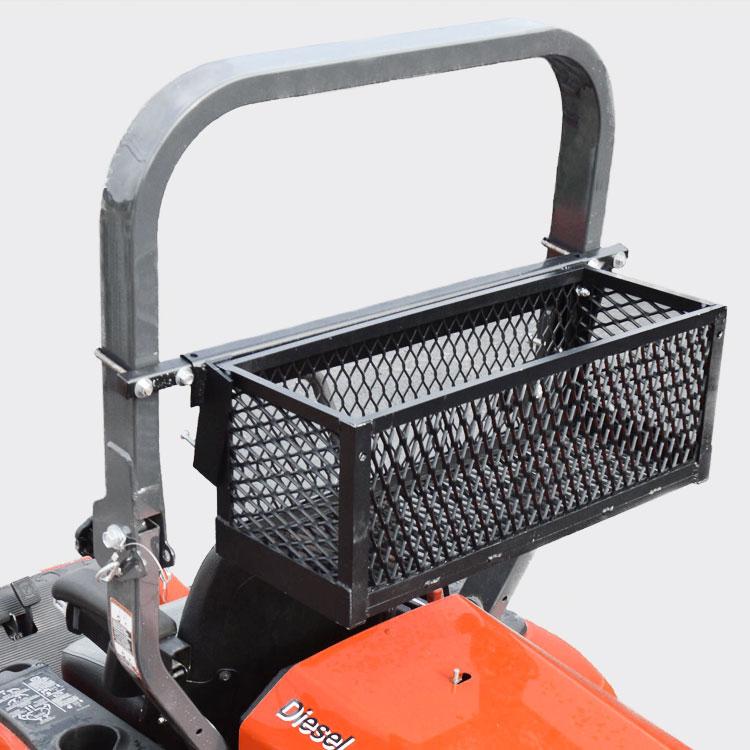 Kubota Tractor Tool Box : Roll bar mounted tool tray