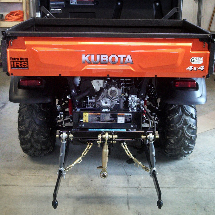 3-POINT HITCH FOR UTV