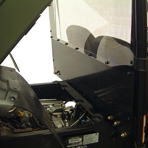 Gator Hpx Winch Mount : Rear windshield back panel combo for john deere gator hpx