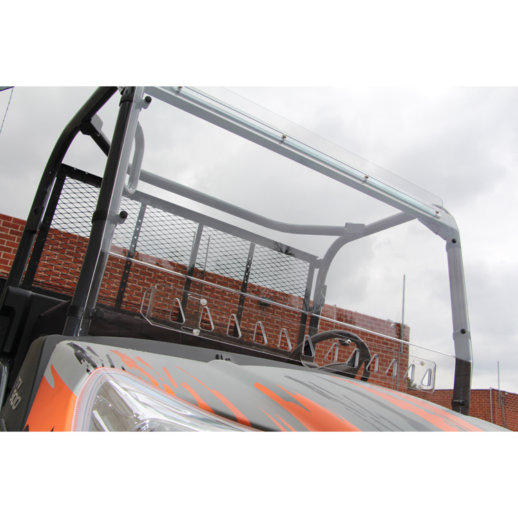 Vented Windshield For Rtv 400 Amp 500 Quantum Coated