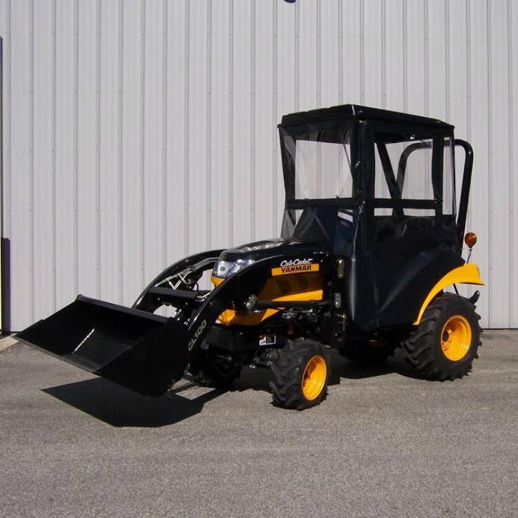 4 Door Tractor : Hardtop economy cab for cub cadet yanmar tractors
