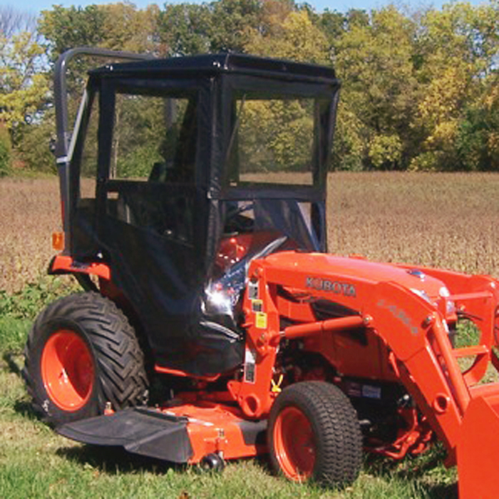 Standard Cab With Hinged Doors For Kubota B Series Compact