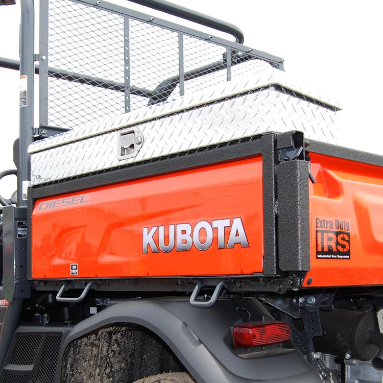 Kubota Tractor Tool Box : Side mount tool box for the kubota series diamond
