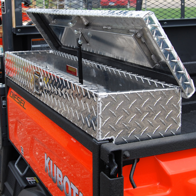 & Side Mount Tool Box for the Kubota X-Series - Diamond Plate Aluminum Aboutintivar.Com