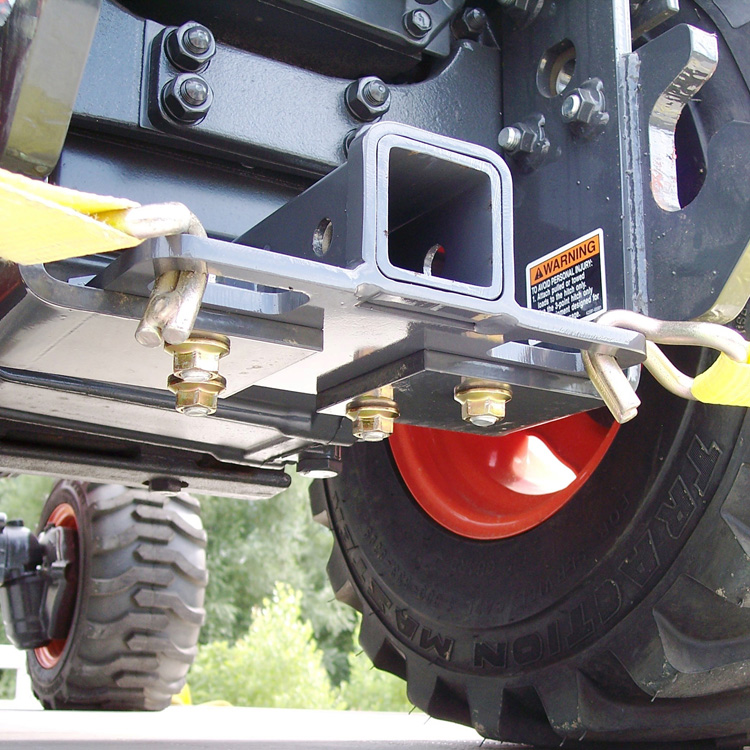 Yanmar Wheel Spacers : Rear receiver hitch with built in tie downs for kubota bx