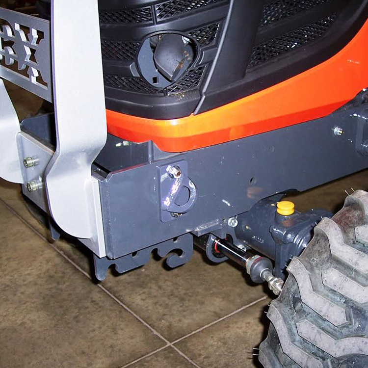 John Deere Tractor Tie Downs : Front tie down attachments for kubota bx series tractor