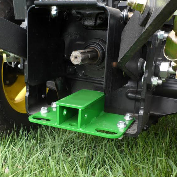 John Deere Tractor Tie Downs : John deere rear reciever hitch tie downs for