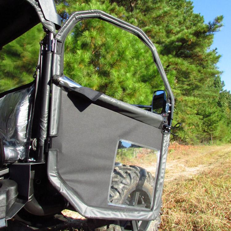 Gator Hpx Winch Mount : Hinged door rear window kit for john deere gator full