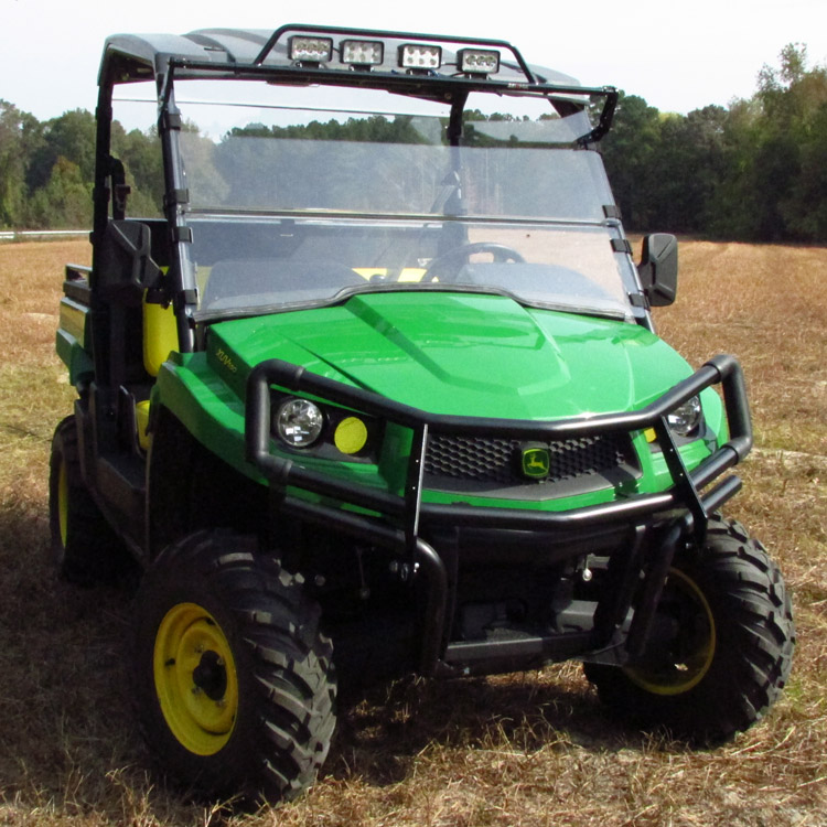 John Deere Gator Lights : Versashield quot in acrylic windshield for mid size john