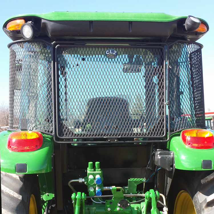Tractor With Windows : Protective cab screen for john deere  series