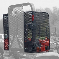 Set of Side Screens for Use with Protective Rear Screen - L & MX Series Tractors