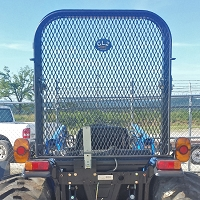 Rear Rock Screen Guard For Case IH Open Station Tractors