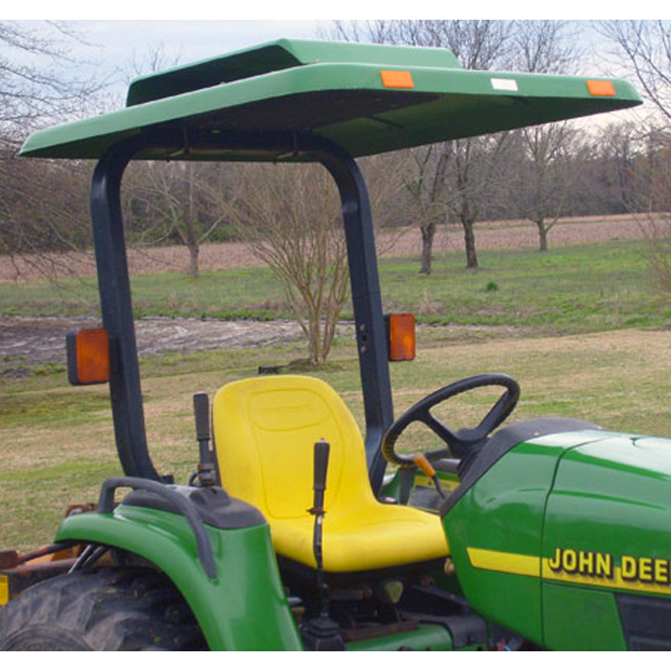 Tractor Amp Mower Canopy With Down Draft Fan Green