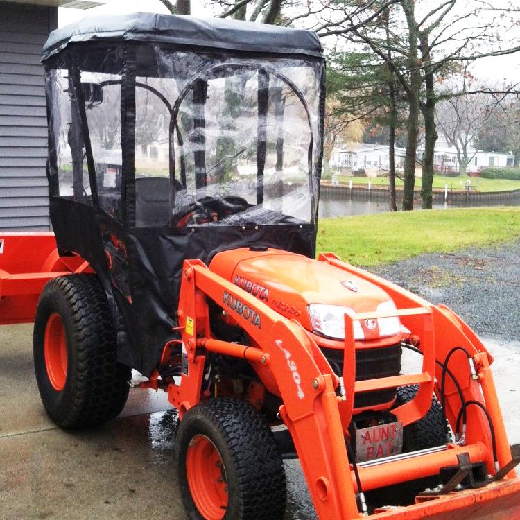Kubota B7100 Tractor Seat Covers : Tractor cab enclosure for kubota b