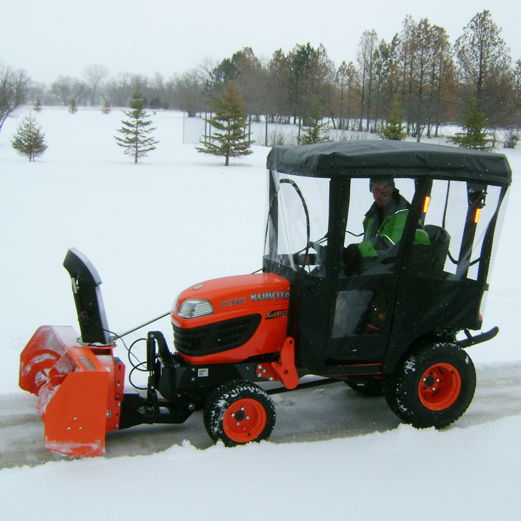 Kubota Lift Cover : Tractor cab enclosure for kubota bx series tractors