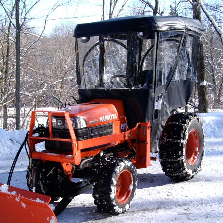 Tractor Cab Enclosure For Kubota B1700 B2100 B2400