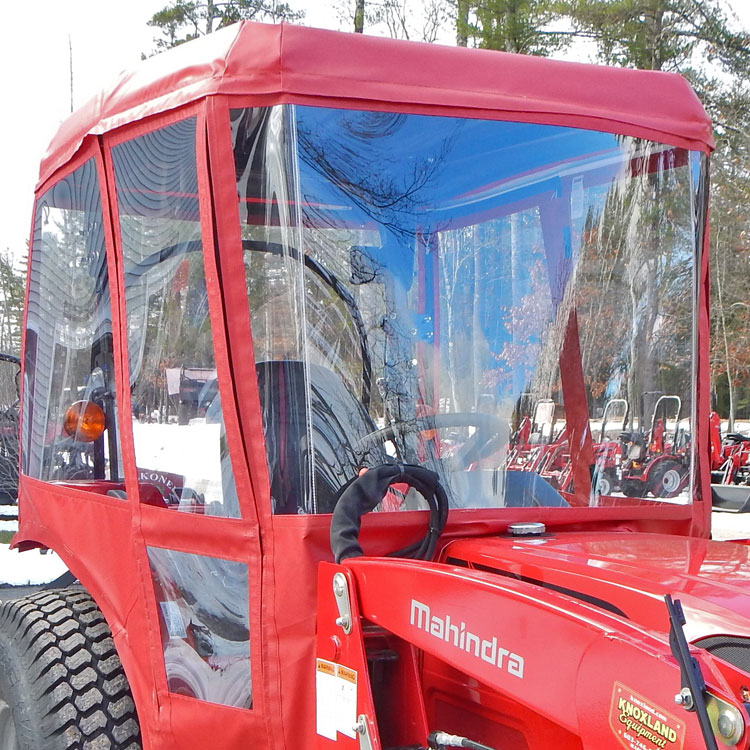Tractor Cab Enclosure For Mahindra 3510 And 4110 Existing