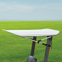 Folding Bimini Sunshade Canopy for Tractors and Mowers - Fits 2