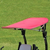 Folding Bimini Sunshade Canopy for Tractors and Mowers - Fits 3