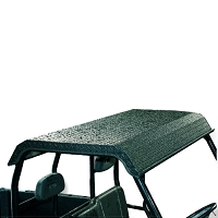 Arctic Cat Prowler Diamond Plate Aluminium Roof with Black LINE-X
