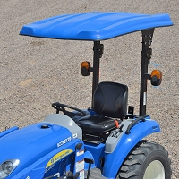 N1 SERIES FIBERGLASS CANOPY ONLY- BLUE (45