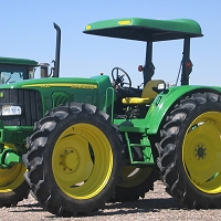D5 Fiberglass Sunshade Kit for 5000 Series John Deere Tractors