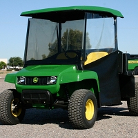 Gator T-Series Side Door & Rear Window Kit. Requires Canopy & Windshield.