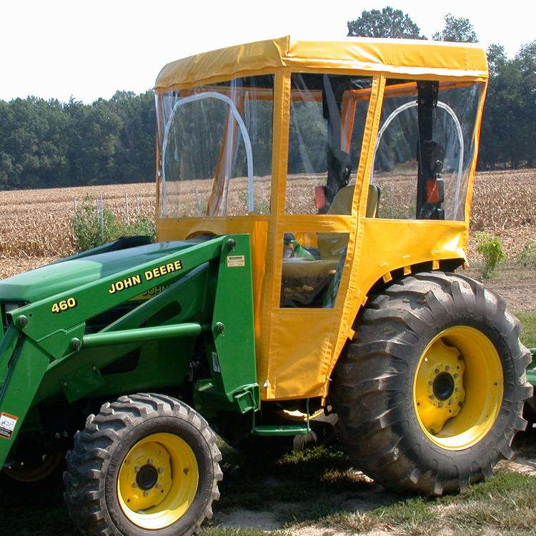 Tractor Cab Enclosure For John Deere 4000 Series Tractors