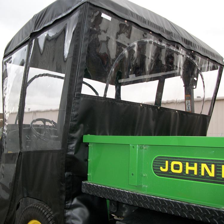 Full Cab Enclosure With Vinyl Windshield For John Deere