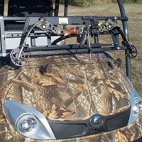 Power-Ride Utility Vehicle Rear Bow Rack - Rollbars 50-64