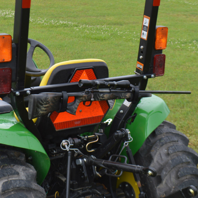 Tag Along Tool Amp Gun Rack For Tractors And Mowers
