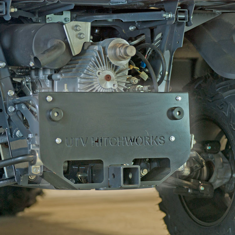 Hitch Extension Skid Plate For Rtv X900 X1100 X1120 X1140