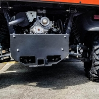 Hitch Extension/ Skid Plate for RTV-X900, X1100, X1120, X1140