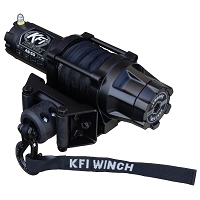 KFI Assault 5000 lb Winch (Wide) - Synthetic Cable