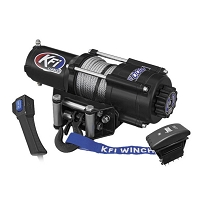 KFI 4500 lb UTV Series Winch (Wide) - Steel Cable