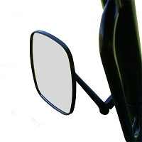 "Left Side View Mirror for 1.75"" ROPS"