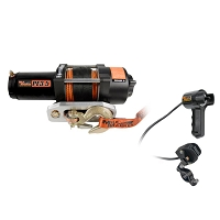 3,500 lb. Tough Series Waterproof UTV Winch w/ Synthetic Rope