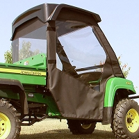 SOFT DOOR & REAR WINDOW KIT FOR JOHN DEERE GATOR FULL SIZE XUV, HPX