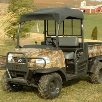 Fabric Sunshade Kit for Kubota RTV900