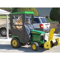 Standard Cab with Hinged Doors for John Deere 300 & GX300 Series Lawn Tractors